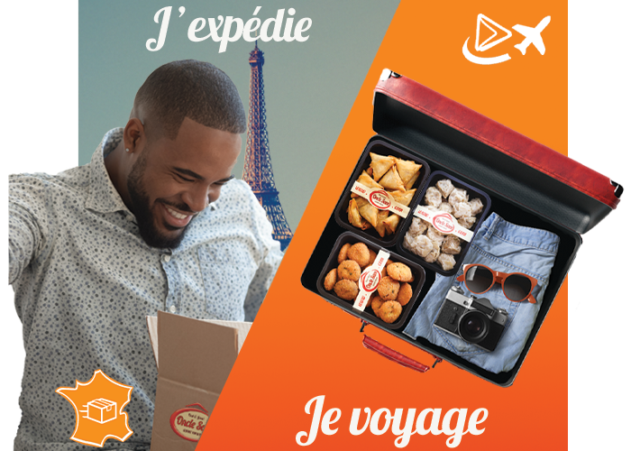 je Voyage / j'Expédie